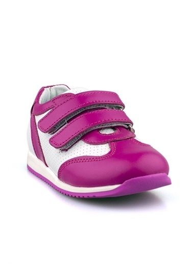 Cici Bebe Ayakkabı Rugan Kız Çocuk Ayakkabısı Fuşya